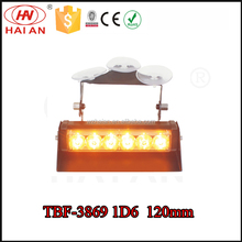 Hight quality LED strobe flash deck dash traffic signal light interior dash visor TBF-3869 1D6