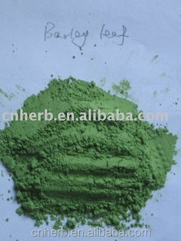 green barley leaf powder and barley grass powder