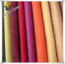 SUEDE FOR FURNITURE AND GARMENT/100% POLYESTER SUEDE FACTORY/TELA SUEDE