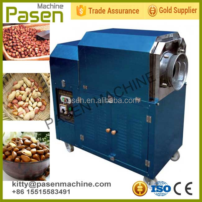Cheap price Food nuts roaster machine / Cashew peanuts nut roasting processing machine