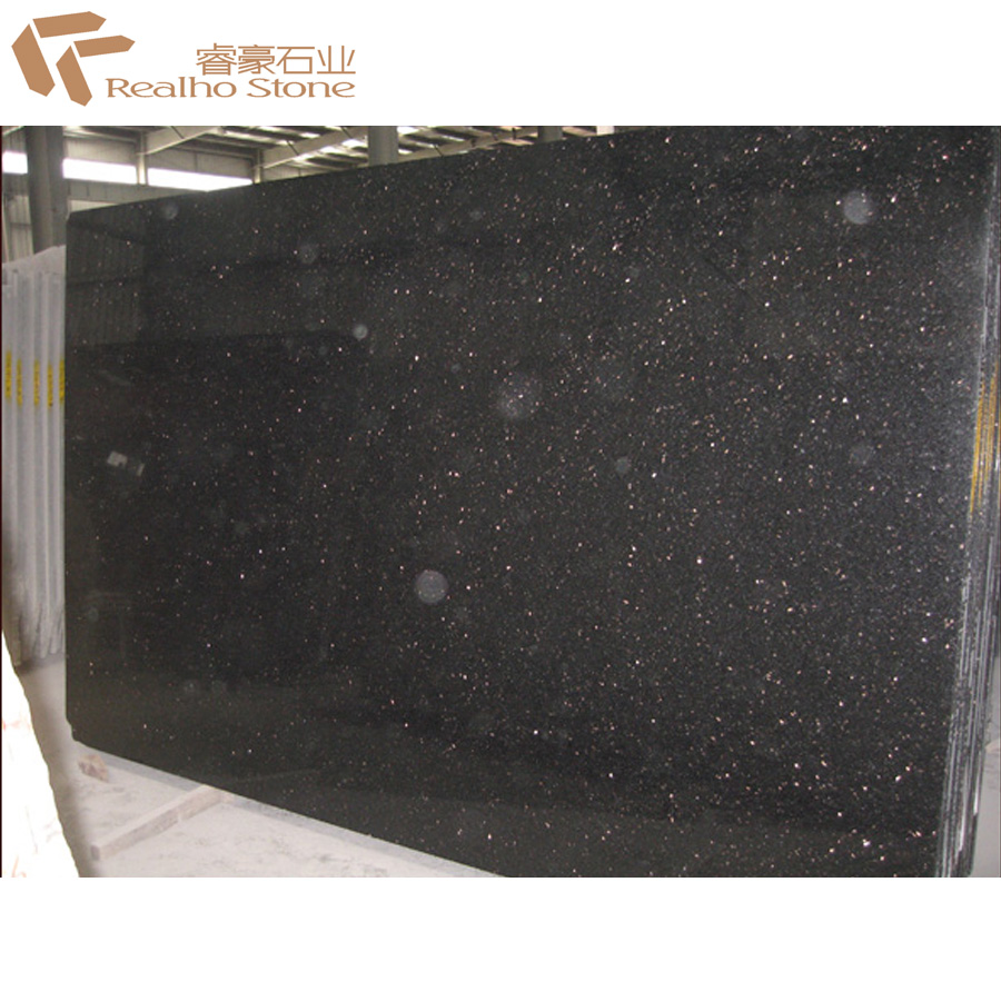 big size black galaxy granite slabs price for sale