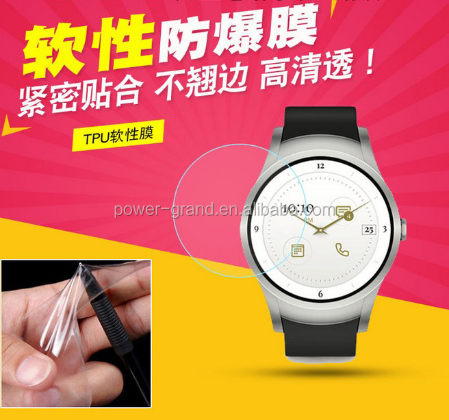 Super clear anti-explosion Soft TPU Screen protector film for Verizon Wear 24 Smartwatch