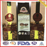 plastic coffee packaging bags