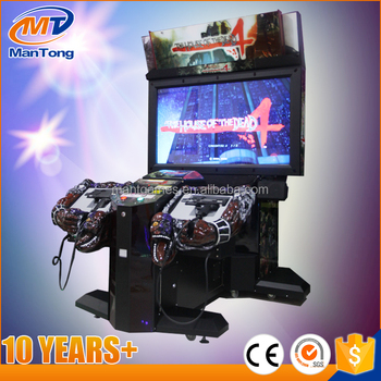 55 inch high quality the house of dead 4 shooting arcade game machine for sale