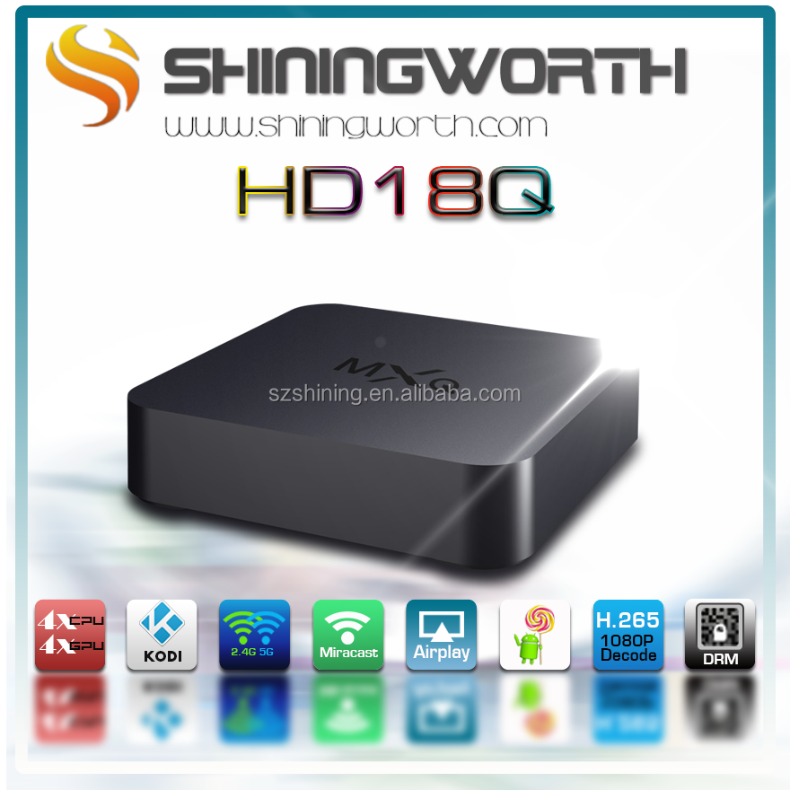 Android 4.4 Mini PC Amlogic S805 quad core Android google IP TV box