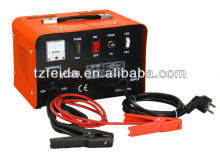 Portable 12v 24v output car battery charger