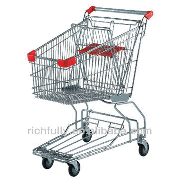 RFY-STA04: Asian Shopping Cart Trolley