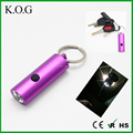 Oval keychain flashlight,Aluminum Key chain Light,Keychain Light for Kids