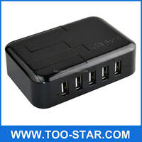 multi usb travel charger rapid universal 5 port USB wall charger with CE