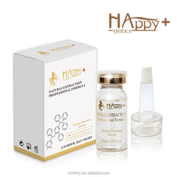 placenta vitamin E skin care Happy+ QBEKA sheep placenta serum repair damaged skin serum