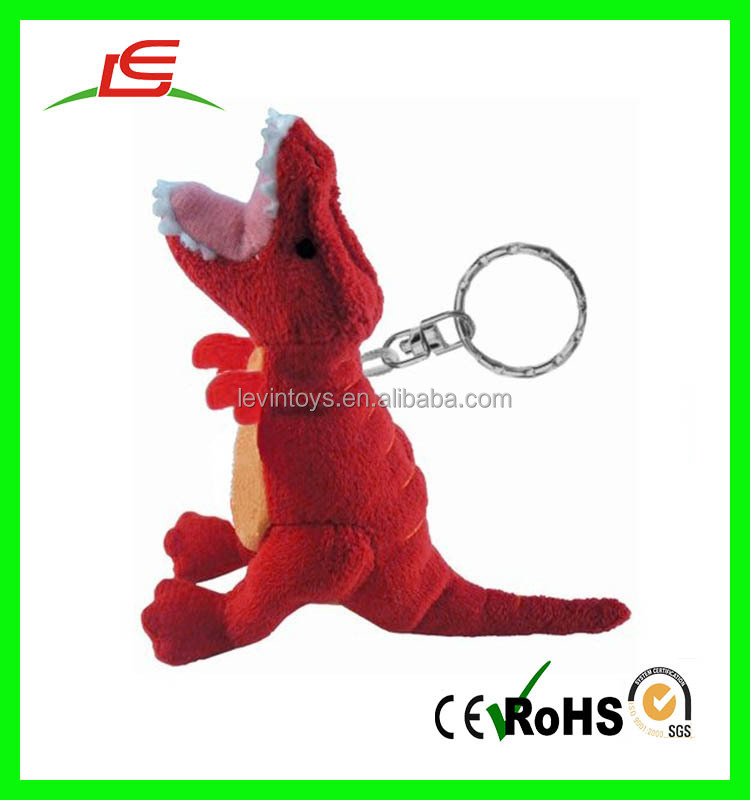 Cute Stuffed Toy Keychain Plush Mini Stuffed Dinosaur Animal Keychains