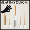 Magic Curler Pure Gold Interchangeable Curling Wand Set