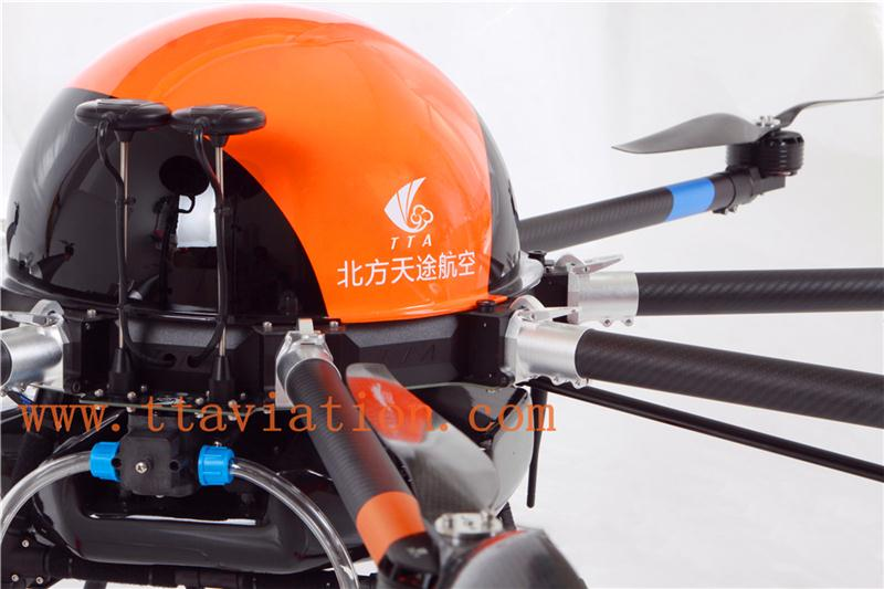 M6A agricultural multicopter sprayer china shenzhen drone auto-pathfinder drone with gps