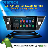 3G Wifi APP Phone GPS car dvd for Toyota corolla ANDROID 4.4.4 up to 5.1 1.6GHz MCU 4-Core