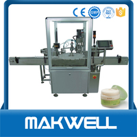 skin cream filling sealing and capping machine with low price