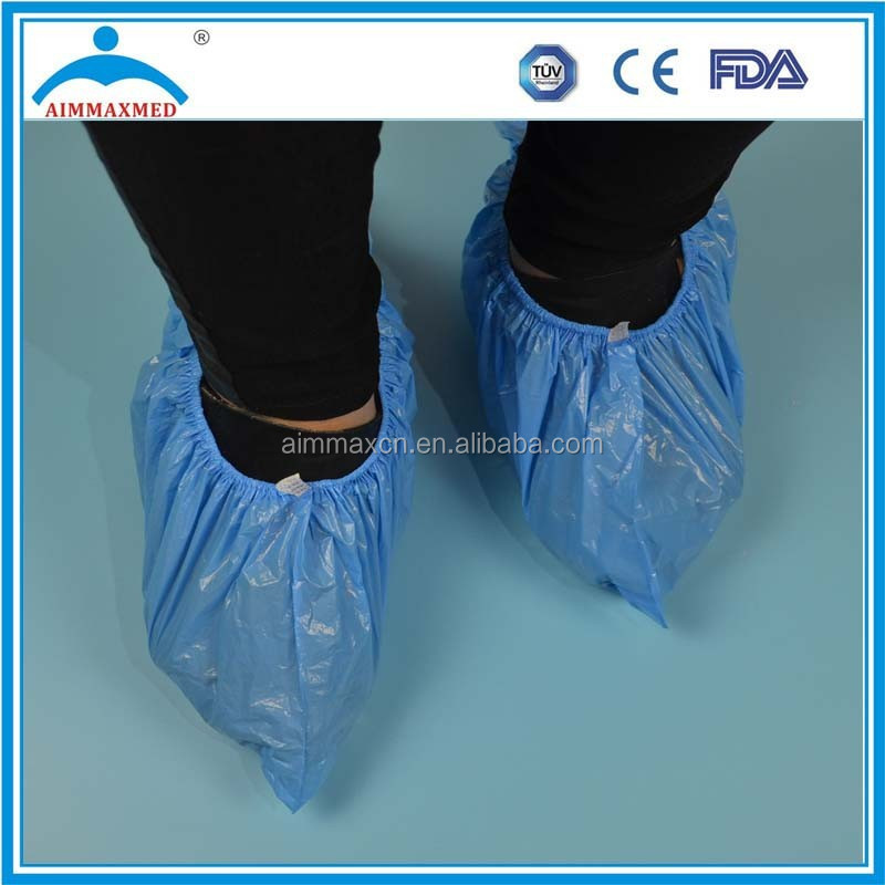disposable rain shoe cover, overshoes