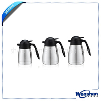 personalized double wall coffee pots