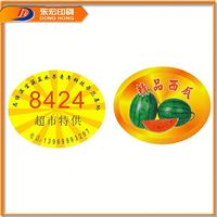 Hot Sell Kids 3D Nail Art Fruit Sticker