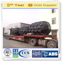Used for security protection of yokohama type boat rubber fender
