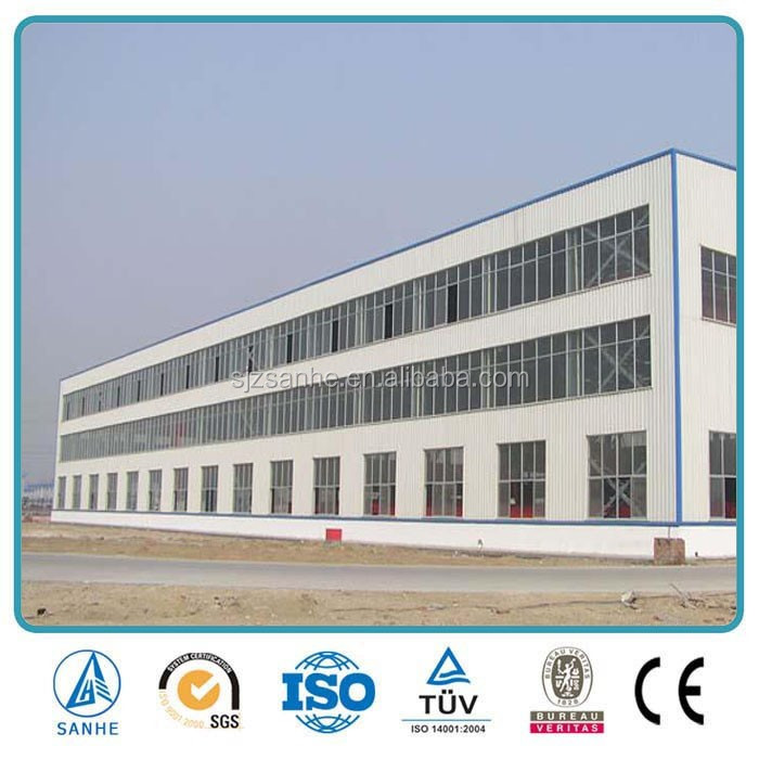 Prefabricated Light Steel Frame Structure Workshop/Canopy