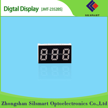 0.25 inch 3 digit 7 segment display number led