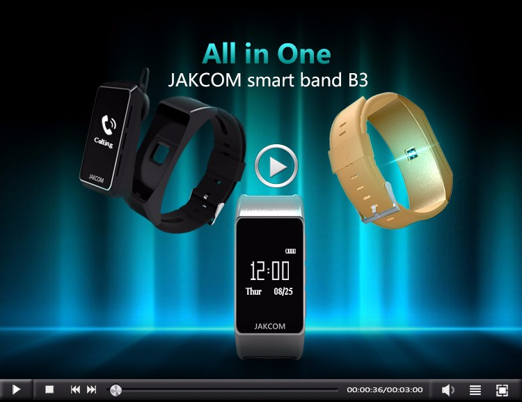 Jakcom B3 Smart Watch 2018 New Premium Of Smart Watch Mens Fashion Water proof wholesale sport smart watch
