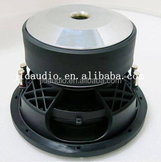 with 16 years exporte experience JLD Audio 15 inch RMS 2000w with aluminum cone and basket car subwoofer spl