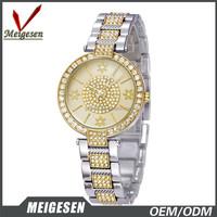 new design watch China manufacturer fashion crystal quartz watch