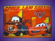 Best Selling Durable Using cartoon 3D Lenticular Printing Pp Placemat