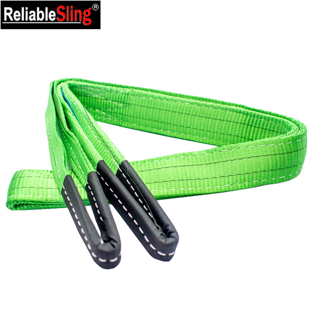 Price Eye and Eye Polyester Flat Double Ply Webbing Sling