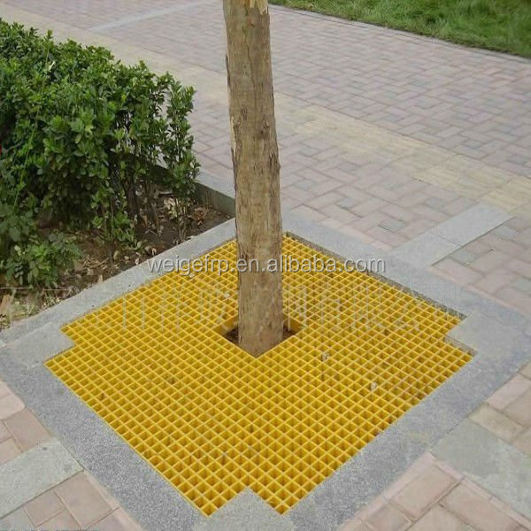 High quality anti aging FRP GRP Fiberglass diamond mesh grating