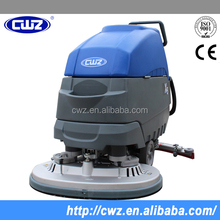 Walk behind floor warehouse use cleaning machine