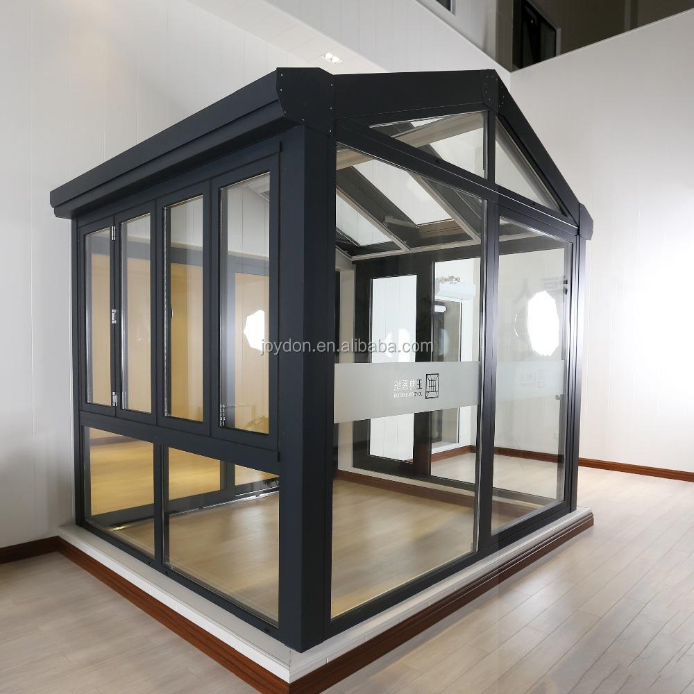 Joydon System Heat Insulation Aluminum Frame Winter Garden Glass ...