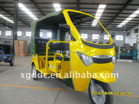 Electric passenger three wheel car. CE Approved