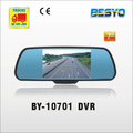 Car 7 inch rear view mirror with DVR recorder BY-10701 DVR