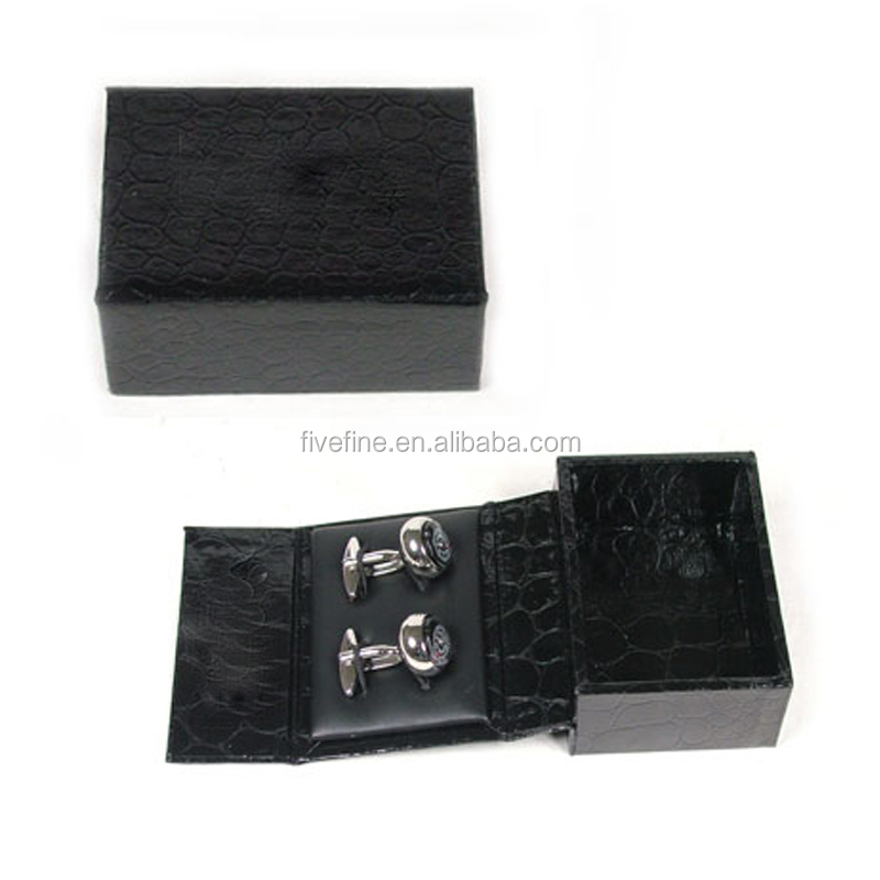 High quality cufflink gift box packaging