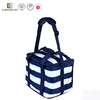 High quality stripes cooler bag large capacity lunch thermal bag