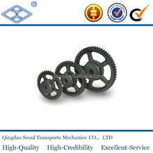 "DIN standard industrial cast iron conveyor roller chain drive sprocket wheel 3/8"" x 7/32"" for 06B-1-2-3"