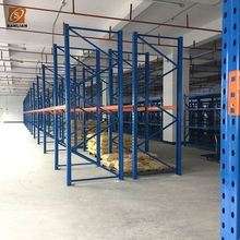 Industrial Warehouse Storage Steel Teardrop Pallet Rack Shelves
