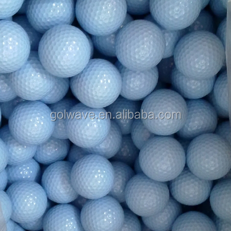 2pcs high quality blank golf balls,white golf ball,white balls