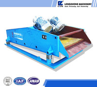 Coal mining dewatering vibration screen equipment, high speed high efficient dewatering machine