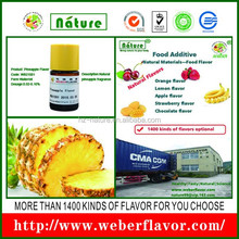 food raw material pineapple flavor