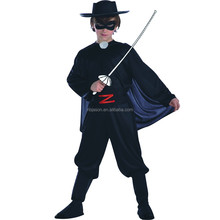 Zorro de Halloween anime TV traje Niño