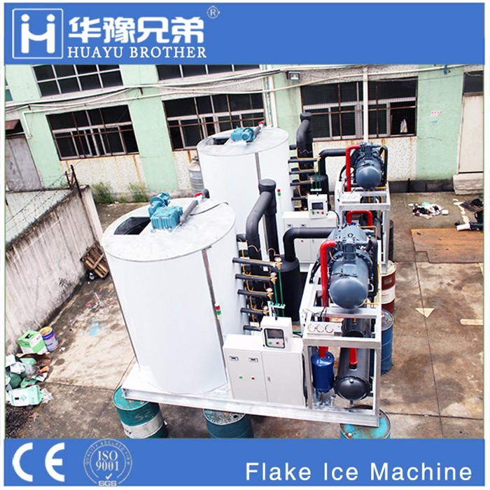big ice maker machine 30T/day artificial snow machine chipped ice machine