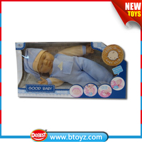 "Good quality baby dolls with music 18"" boy doll for sale"