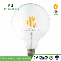 affordable Clear g125 globe led filament bulb for wholesales