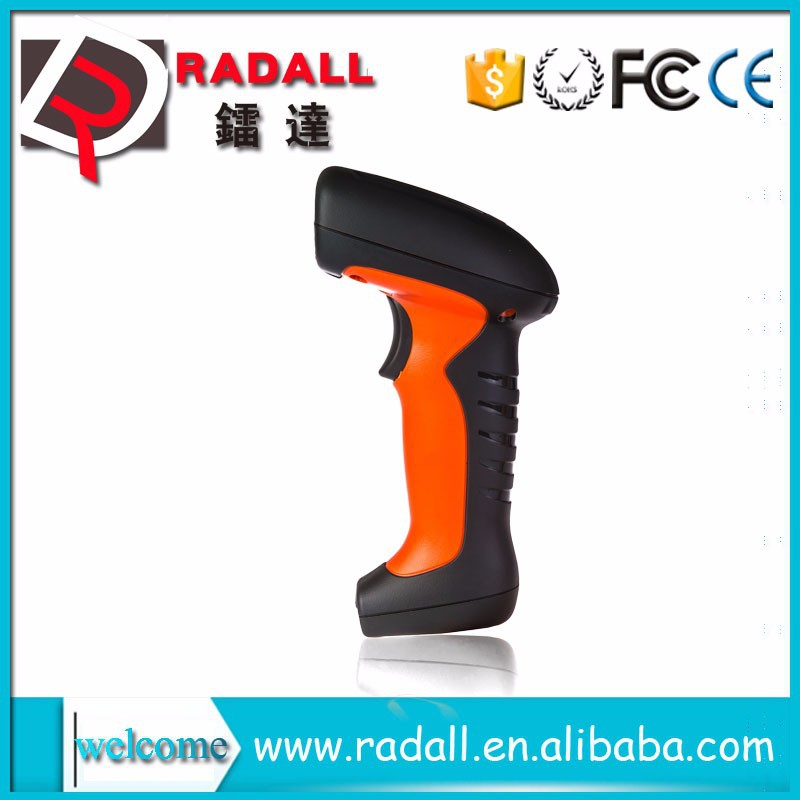 RD - 6650AT wired barcode scanner waterproof bar code scanner barcode reader laser base