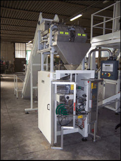 VERTICAL PACKAGING MACHINE FOR SNACK
