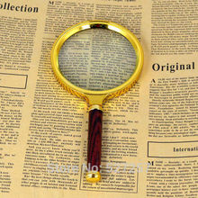 Fashion Convenient Handheld Reading Chic Jewelry Magnifier Glass