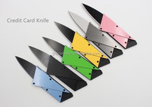 FREE SAMPLES& FREE SHIPPING credit card knife pocket knife folding ninja wallet